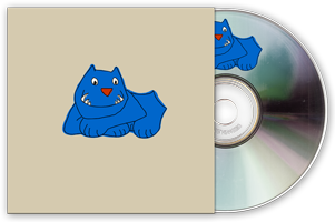 Buy the blue dog CD